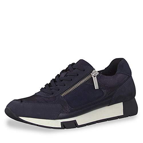 Tamaris Damen 1-1-23738-23 Sneaker, Blau (Navy Comb 890), 38 EU
