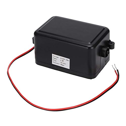 Luftpumpe, 220 V AC, 4,5 W, elektrische Luftpumpe für Ozonmaschine, Anti-Dekubitus-Luftbett, Aquarium-Sauerstoffversorgung, 12 l/min