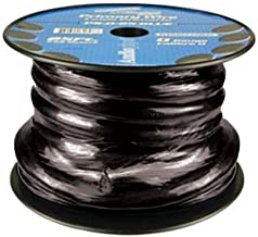 nippon Audiopipe Ps025bk Black 0 Gauge 25' Spool Super Flexible Oxygen Free Cable by Nippon Power