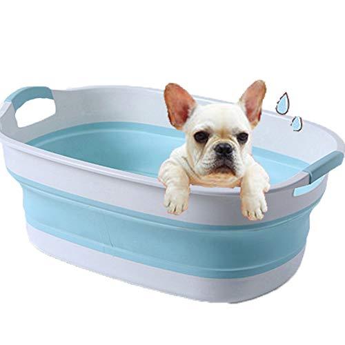 NXL Bathtub Bañera para Perro Tina De Baño Plegable El Plastico Aseo...