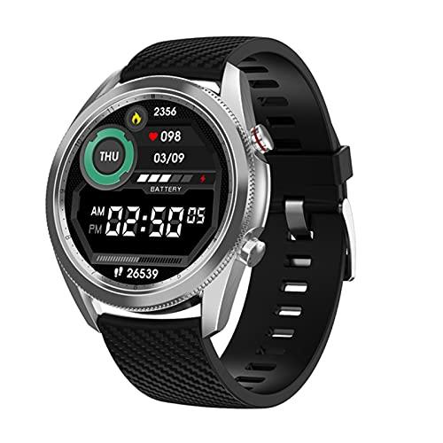 DT91 Reloj Inteligente para Hombres Y Mujeres, Ritmo Cardíaco/Monitoreo De La Presión Arterial IP67 Pulsera Inteligente A Prueba De Agua para iOS para Android,C