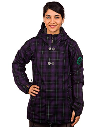 Bonfire Damen Snowboard Jacke Heavenly Plaid Jacket