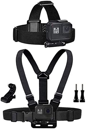 Chest Mount Harness Chesty Head Mount Strap for Action Camera Compatible with GoPro Hero 9 8 product image