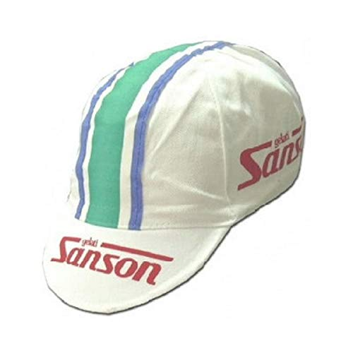 Apis Cappellino Ciclismo Team Vintage Sanson Cycling cap HOSTED BY PRO' Line
