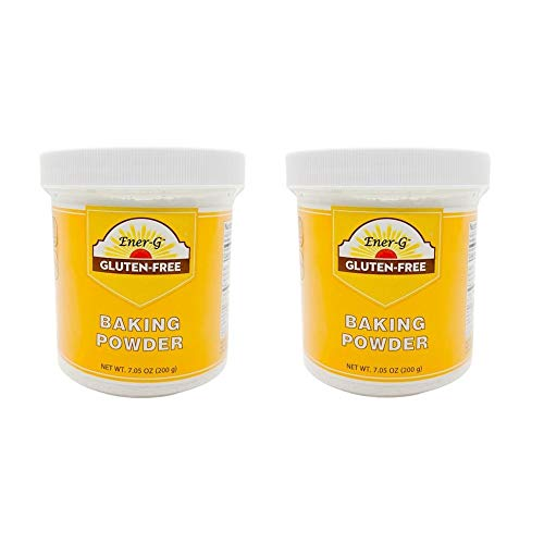 Aluminum-Free Baking Powder Substitute by Ener-G | Gluten Free, Vegan, Nut Free, Non-GMO, Kosher | 7.05 oz Package-2 Pack