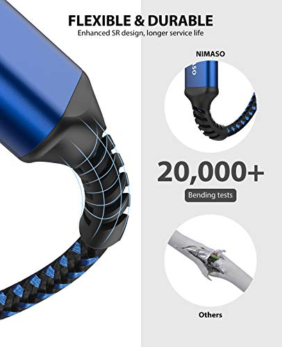 NIMASO Cable Alargador USB 3.0 [1M+2M] Cable USB 3.0 Macho A Hembra Super Rápida 5 Gbps para Mouse,Teclado,Pendrive… 2