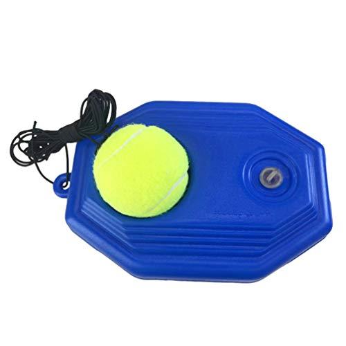 LIOOBO 1 Set di Attrezzi da Allenamento per Palline da Tennis Dispositivo di Allenamento per Palline da Tennis Portatile Resistente all'Usura Strumento di autoapprendimento per Lo Sport all'aperto