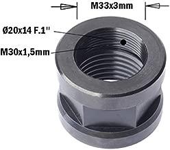 M 16 x 60 mm Dresselhaus hexagonales 8,8 con rosca hasta cabeza EN ISO 4017 DIN 933 galvanizados 25 pcs