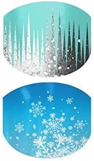 Jamberry Nails - Snow & Ice (Juniors) *Holiday Wrap*