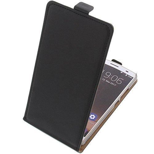 foto-kontor Tasche für Oukitel K6000 Plus Flipstyle Schutz Hülle Handytasche schwarz