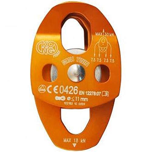 KONG Poulie Mini Twin, Orange, 10 cm