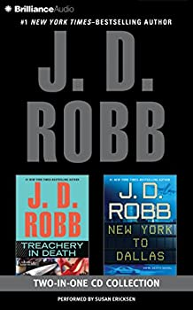 Audio CD J. D. Robb – Treachery in Death and New York to Dallas 2-in-1 Collection: Treachery in Death, New York to Dallas (In Death Series) Book