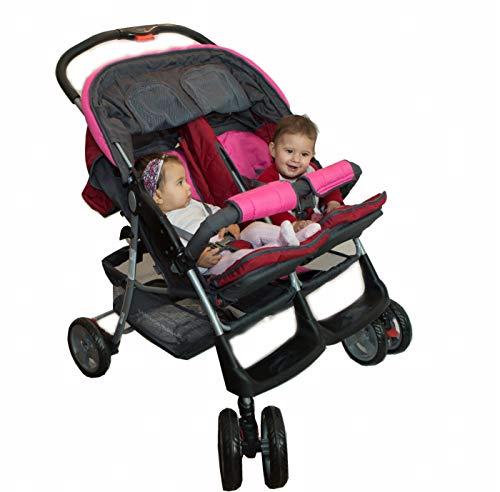 Passeggino fratelli o gemellare Deluxe Tandem – BambinoWorld | Passeggino doppio | due bambini |...