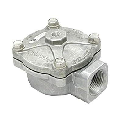 Goyen Rca20t000 110psi Aluminum Threaded 3/4 In Npt Diaphragm Valve B362731 by GOYEN