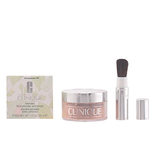 Clinique Blended Face Powder and Brush Puder 18 Medium, 35 g