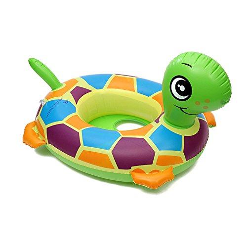 Chickwin Cartoon-Tiere Schwimmen Ring Baby Aufblasbare Schwimmbad Float Swim Ring Kleinkind Sicherheit Aufblasbare Sitzring Sitz Schwimmen Ring (Schildkröte)