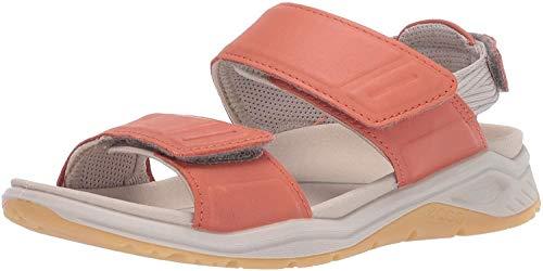 ECCO womens X-trinsic Leather Sport Sandal, Apricot, 10-10.5 US