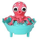 Niños, fabricante de burbujas automáticos, máquina de burbujas, al aire libre, juguetes al aire libre para exteriores, con dibujos animados en forma de octopos, para 3 4 5 6 años niños pequeños niños