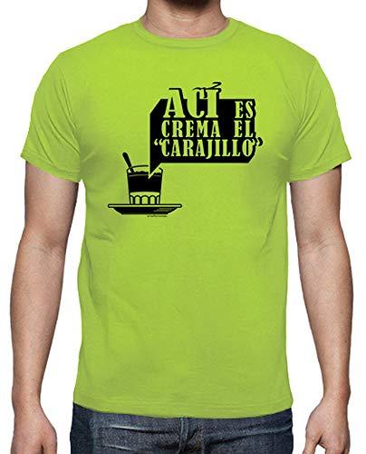 latostadora - Camiseta AC para Hombre Pistacho XL