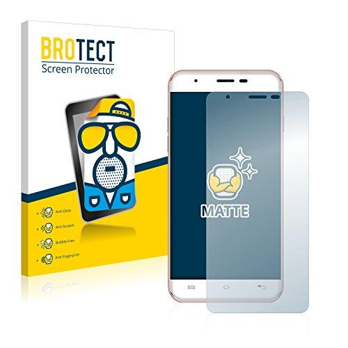 BROTECT 2X Entspiegelungs-Schutzfolie kompatibel mit Oukitel U7 Max Bildschirmschutz-Folie Matt, Anti-Reflex, Anti-Fingerprint