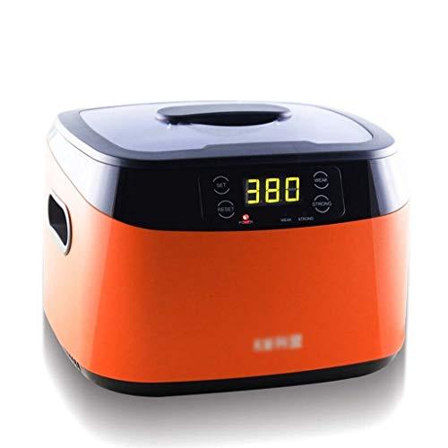 NSDFG Ultraschallreiniger Ultraschallreiniger, 1,2 l, Edelstahl-Wassertank, Ultraschall-Bad, geeignet für Schmuck, Brillen, Uhren, Metallmünzen und Zahnprothesen, Mini-Waschmaschine