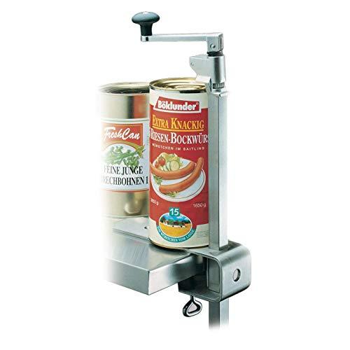 Westmark Apriscatole da Montare al Tavolo, per cucine Professionali/Catering, Lunghezza: 84 cm, Acciaio Inox, Sieger Clou 30, 19802260, Steel, Stahl Silber