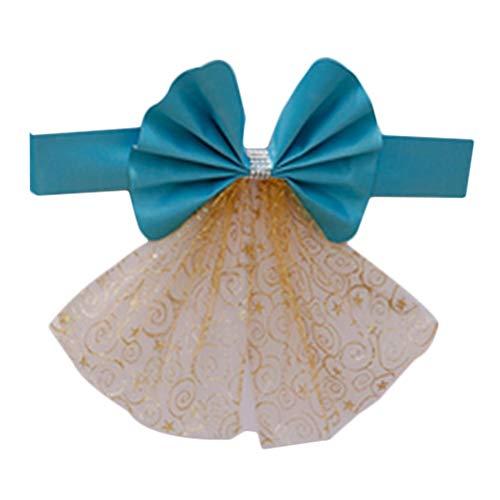 Outflower 1 PCS Arc élastique Or Dossier Fleur pour la décoration de la Maison, Mariage en Plein air, fête, hôtel Banquet