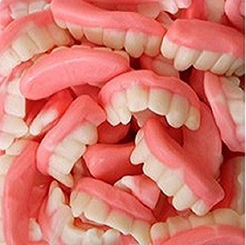 FirstChoiceCandy Gummy Teeth (2 LB)