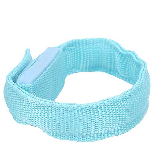 Pulsera ligera, pulsera ligera y luminosa Flash rápido Cómodo de llevar para deportes Protección para entrenamiento muscular para deportes al aire libre para fitness(blue)