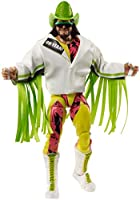 WWE Ultimate Edition Wave 8 Macho Man Randy Savage Action Figure 6 in with Interchangeable Entrance JacketLanternExtra...