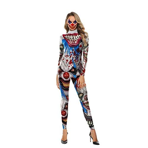 ZHANGHUI Trajes de Miedo De Disfraces niñas de Halloween, Halloween Pelucas for los Disfraces de Halloween Mujeres del Vestido del oscilación (Color : Color3, Size : M)