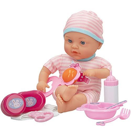 ColorBaby - Muñeco bebé blandito con accesorios colorbaby