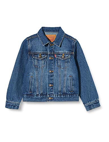 Levi's Kids Lvb Trucker Jacket Jeansweste - Jungen Bristol 8 Jahre
