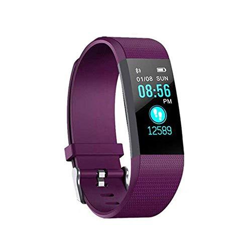 SIWEI Bracciale a Fascia Intelligente, Orologio da monitoraggio dellattività con cardiofrequenzimetro, Fascia da Fitness Impermeabile, Bracciale contapassi per Uomo e Donna