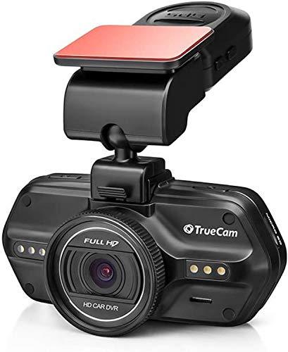 TrueCam A5s GPS Dashcam Autokamera Full HD 1080p mit Blitzerwarner, Endlosschleife, Parkwächter, G-Sensor