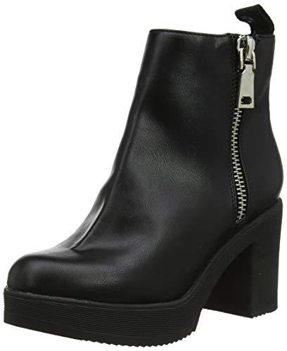 Buffalo Damen Farida Stiefeletten, Schwarz (Black 001), 38 EU