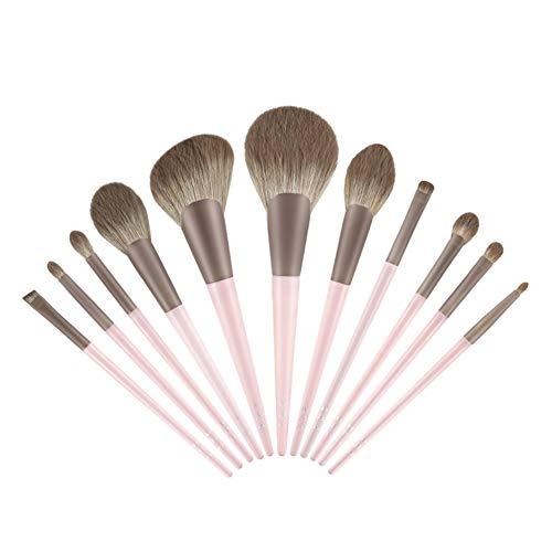 Pinceaux de Maquillage Professionnel 11 Pcs Pinceaux de Maquillage Fondation Premium Poudre Correcteurs Ombres À Paupières À Lèvres Mélange Maquillage Bush Set Avec Sac Cosmétique