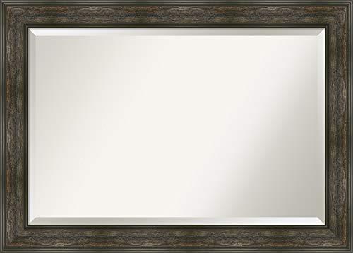 Amanti Art Framed Vanity Mirror | Bathroom Mirrors for Wall | Rail -