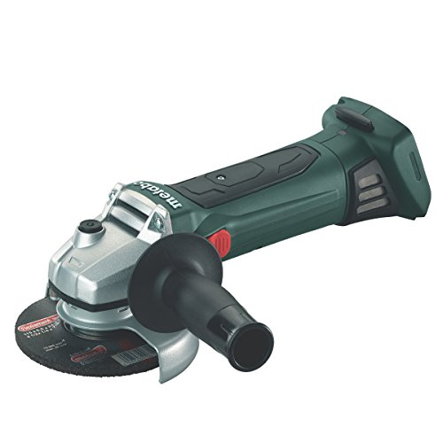 metabo 602170840 115 mm Quick Cordless Angle Grinder in Metaloc Carry Case-Green, 18 V, 1