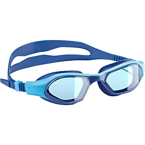 adidas Unisex Jugend Persistar 180 JR Schwimmbrille, Bright Cyan/Blue/Shock Lime, One Size