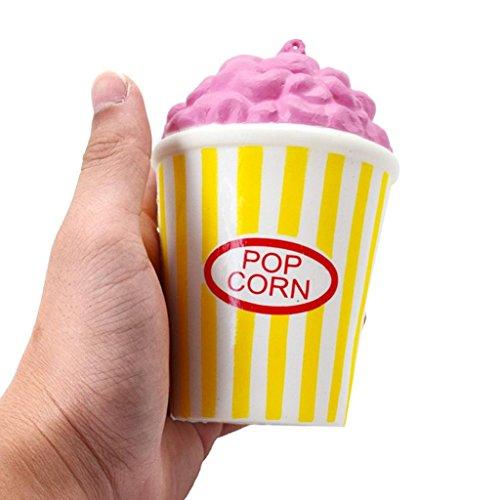 Squishy Juguete, Squishys Kawaii Grandes Baratos Juguete Niños Squeeze Popcorn Copa Squishy...
