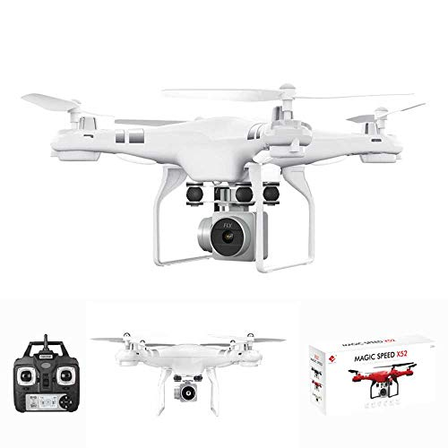 Drone Four-axis Quadcopters Fixed-Height UAV Real-time Transmission HD Aerial Photography PTZ Wide-Angle Large Camera, Best Drone for Beginners,Long Battery Life