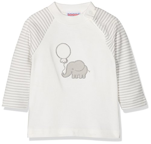 Schnizler Baby-Unisex Sweat-Shirt Interlock Elefant Sweatshirt, Beige (Natur 2), 86