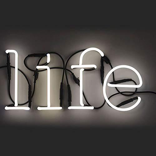 SELETTI 'Composition Life 4 Lettres Neon + Transformateur 01424 – 6 KV