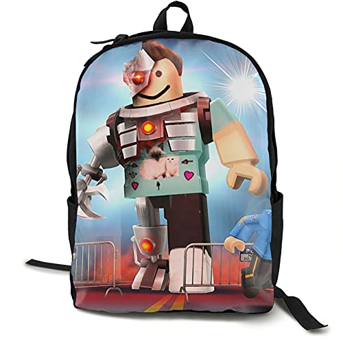 Roblo_X - Mochila de viaje grande para ordenador portátil, mochila universitaria para mujeres y hombres, mochila de negocios