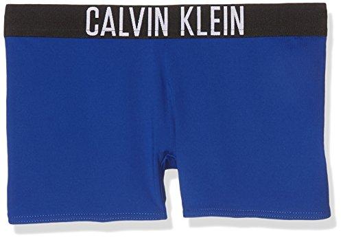 Calvin Klein Intense Power Trunk Bóxer, Azul (Surf The Web 475), 104 (Talla del Fabricante: 4-5) para Niños