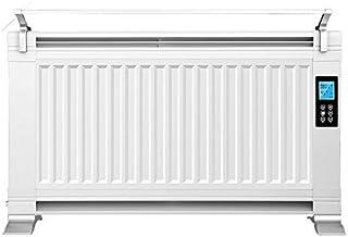Calentador de Pared/Suelo 2200w, Control sin Temperatura (Pantalla táctil LED de Control Remoto) Ahorro de energía con Estante de Secado baño radiador Ultrafino Interior
