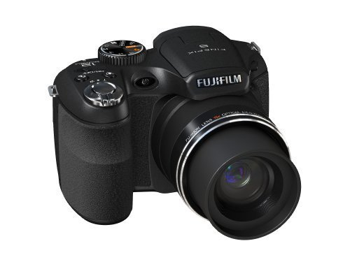 Fujifilm FinePix S1600 - Cámara Digital Compacta 12.2 MP - Negro (3 Pulgadas LCD, 15x Zoom Óptico)