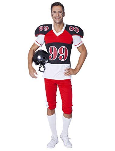 Wilbers NEU Herren-Kostüm American Football, Gr. 54-56