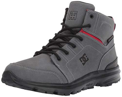 DC Shoes Torstein, Botas para Nieve Hombre, Gris, Negro, Rojo, 38 EU